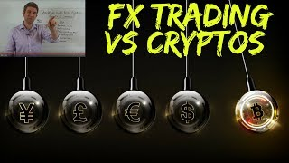 Cryptocurrency Trading vs Forex Trading ☝