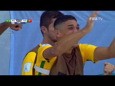 Match 26: Brazil v Portugal - FIFA Beach Soccer World Cup 2017