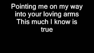 Rascal Flatts -- Bless the Broken Road Lyrics Video