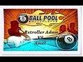 8 Ball Pool Extroller Adam VS Amel - Miniclip Oyunları