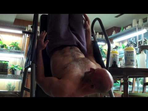 Ab Workout On The Inversion Table