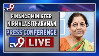 Finance Minister Nirmala Sitharaman Press Conference LIVE