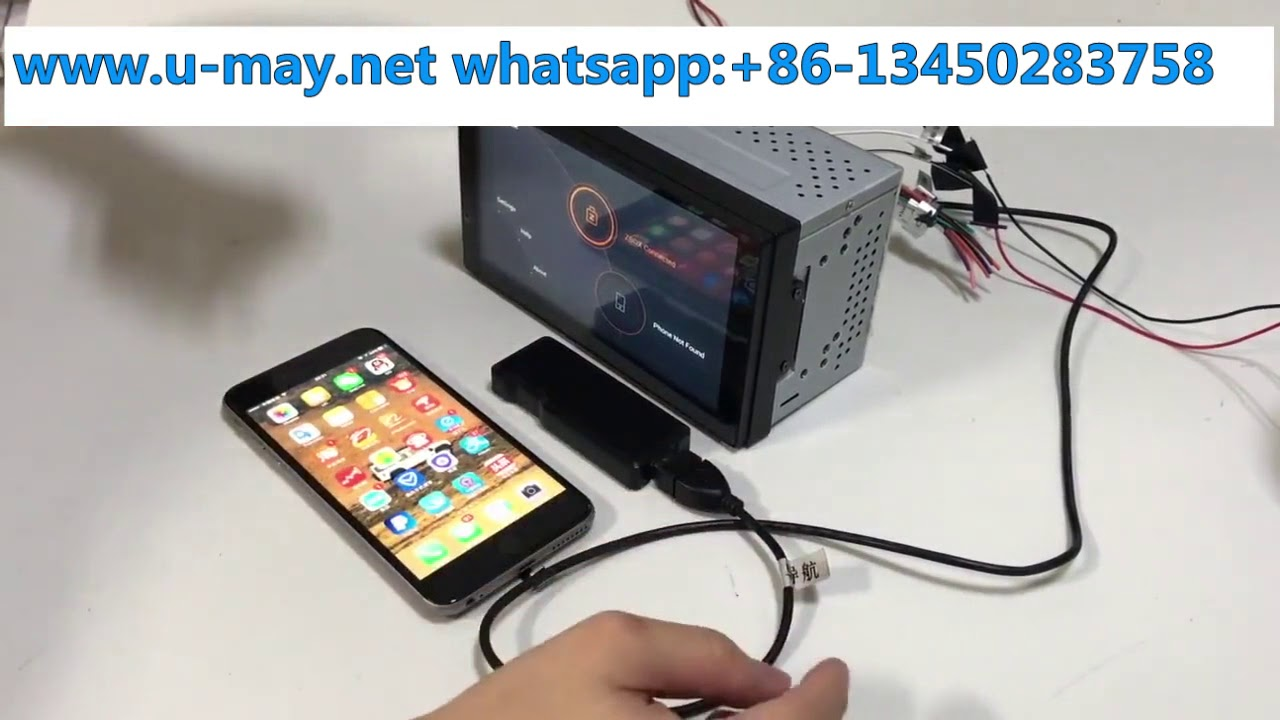 Universal Apple Car Play Android Auto Usb Dongle Youtube
