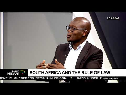 South Africa and the rule of law