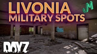 Livonia Military Loot Spots Dayz Map Tour Coming To Ps4 Xbox Pc