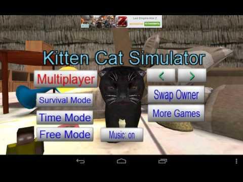 Как скачать игру Котёнок Кошка симулятор
