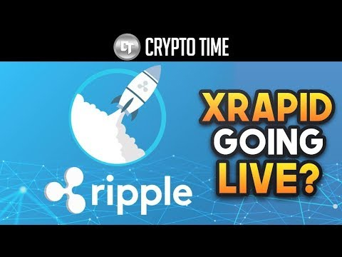 Ripple #XRP - X-Rapid Going LIVE In One Month