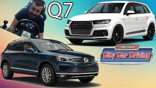 Audi Q7  VW Touareg City Car Driving #35