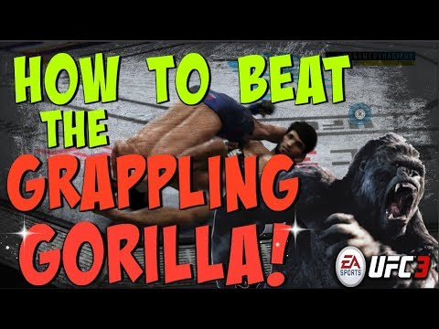 HOW TO BEAT THE GRAPPLING GORILLA!