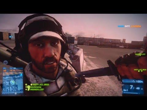 Battlefield 3 - Live Commentary - Team Deathmatch - Kharg Island (BF3 Online Multiplayer Gameplay)