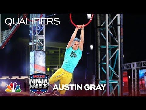 Austin Gray at the Minneapolis City Qualifiers - American Ninja Warrior 2018