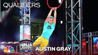 Austin Gray at the Minneapolis City Qualifiers - American Ninja Warrior 2018