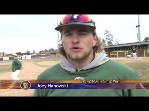 BSU Baseball vs Concordia-SP - Lakeland News Sports - April 18, 2014