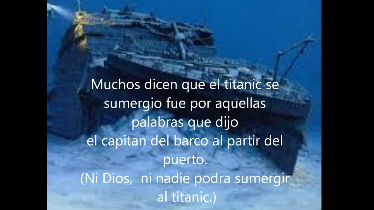 resumen preve sobre el titanic