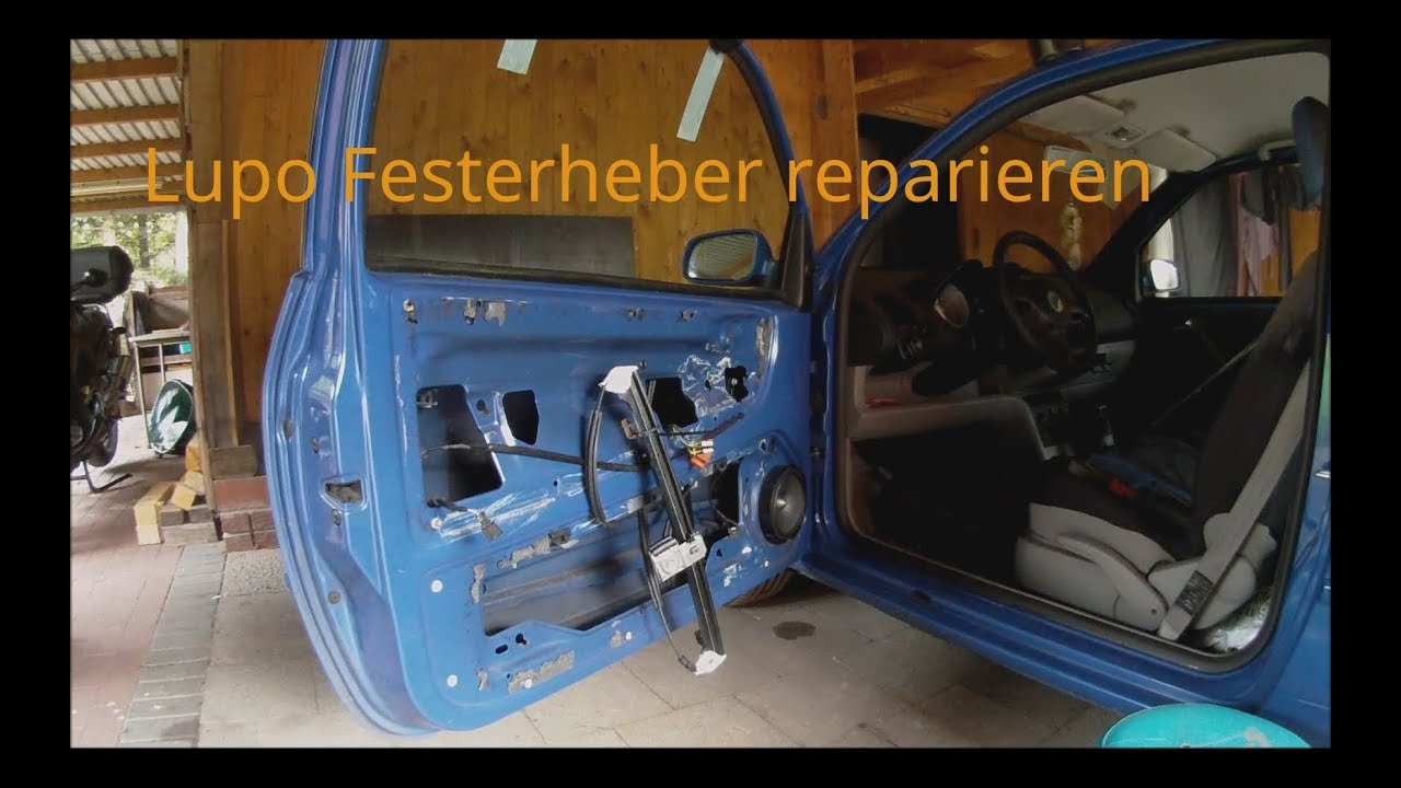 vw lupo fensterheber reparieren youtube. Black Bedroom Furniture Sets. Home Design Ideas