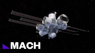 First Ever Space Hotel Set To Launch In 2021 | Mach | NBC News