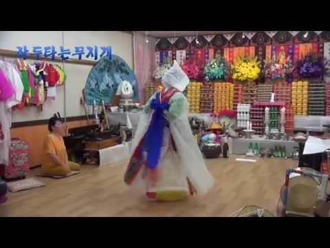 강원도굿 칠성거리(작두타는무지개)