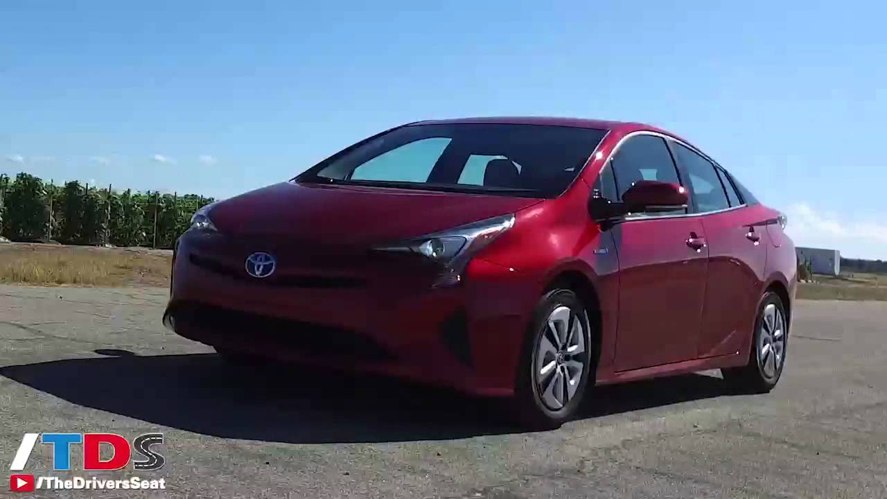 2016 Toyota Prius  First Drive of 4th Gen Prius  YouTube