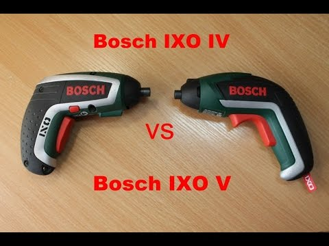 bosch ixo v vs bosch ixo iv youtube. Black Bedroom Furniture Sets. Home Design Ideas