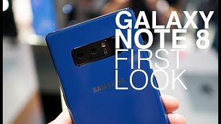 Galaxy Note 8 First Look and Tour!
