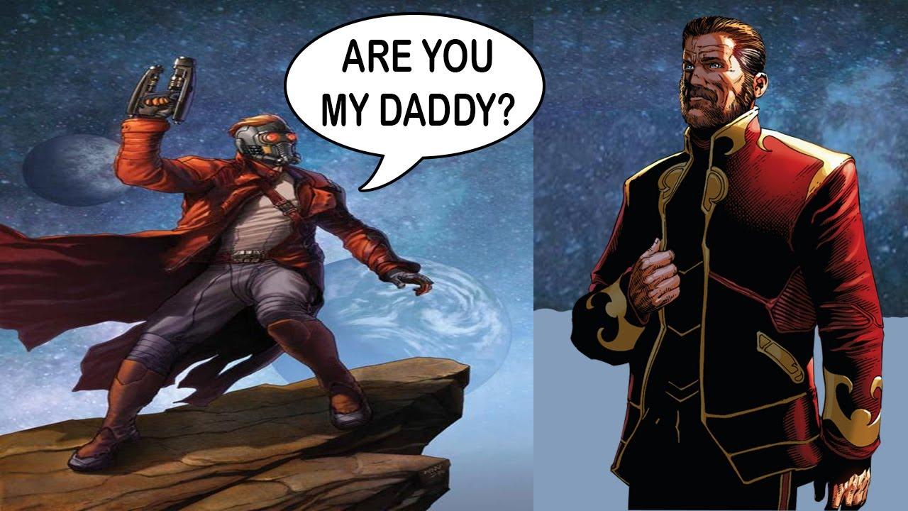 Resultado de imagen para father star lord