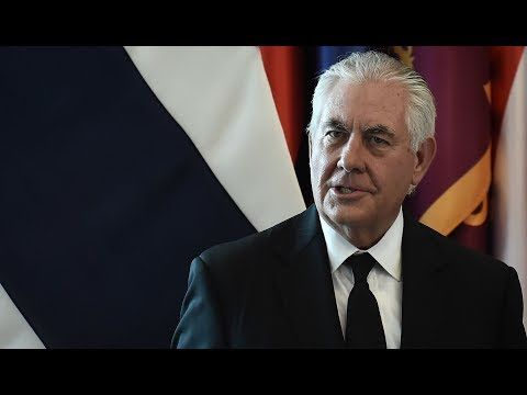 """Tillerson: Trump Speaks """"Only for Himself"""" on American Values"""