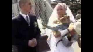 Фото с обезьяной на свадьбе. Мега ржака