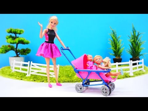Barbie Baby Doll Videos A Stroller For A Baby Doll Kak
