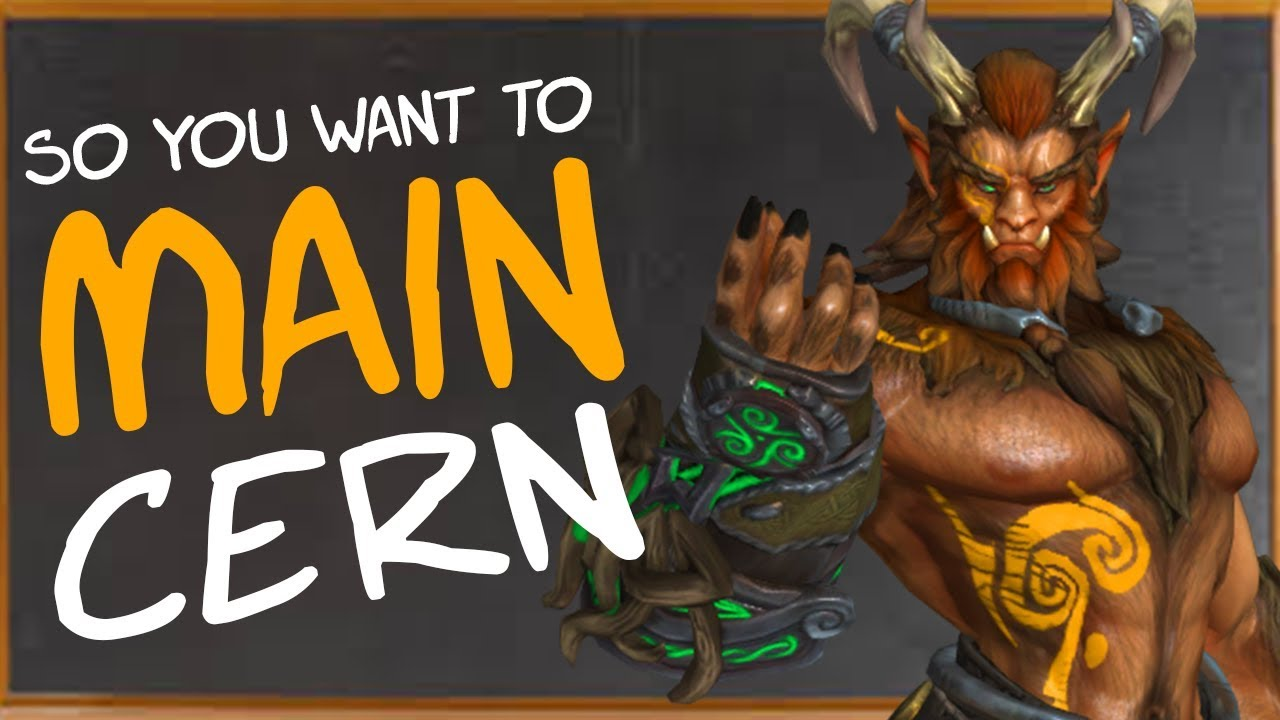So You Want To Main Cernunnos Builds Counters Combos More Cernunnos Smite Guide Youtube