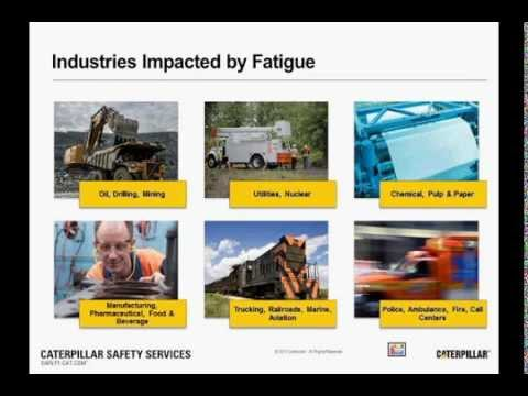 Safety Webinar: Mitigating Fatigue Risk Through Technologies And Safety Culture Solutions