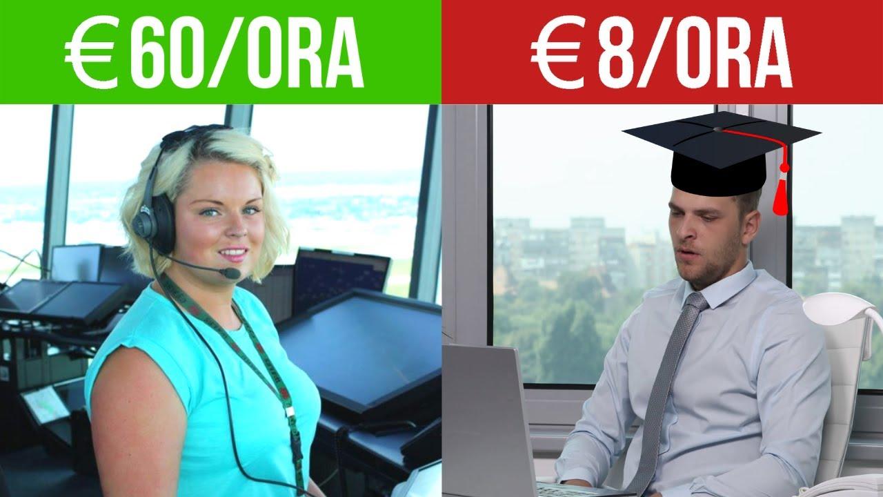 guadagnare tanto senza laurea