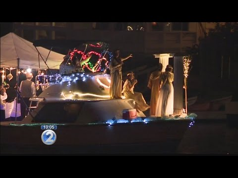 Dozens of boats light up in holiday spirit for Hawaii Kai's Festival of Lights