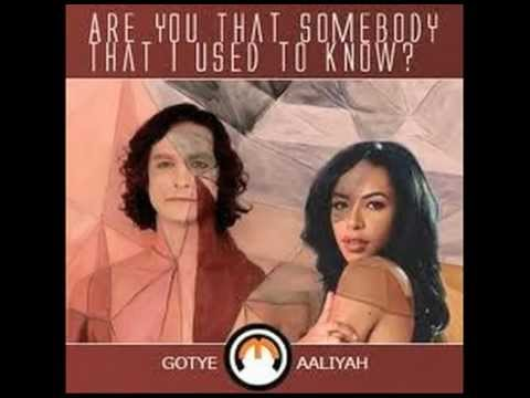 AaliyahGotye Are You That Somebody That I Used to Know?