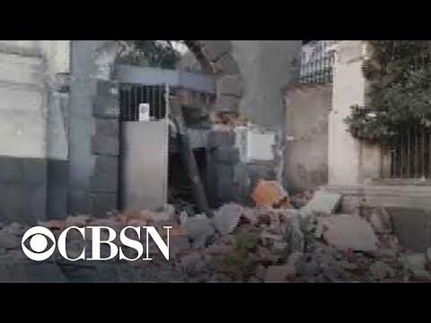 Earthquake rattles eastern Sicily
