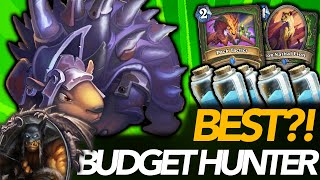 Going Face Just Wins! | Best Budget Hunter Deck?! | Ashes Of Outland