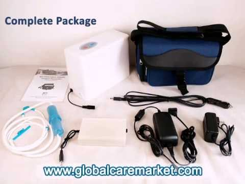 Overview of Portable Oxygen Concentrator with Travel Kit at Global Care Market
