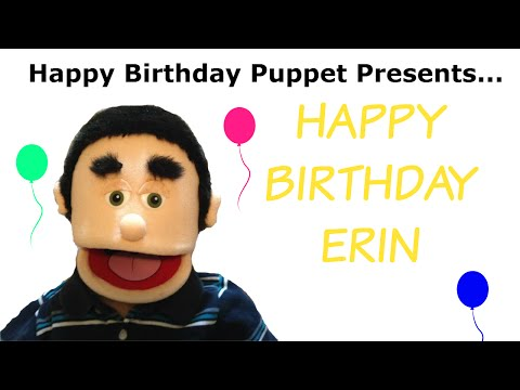 Happy Birthday Erin - Funny Birthday Song