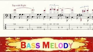 Bass Tab - Meditation - Jobim - Tapping - Advanced Level