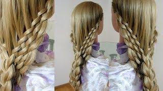 Красивая коса. Техника коса водопад. Видео-урок.