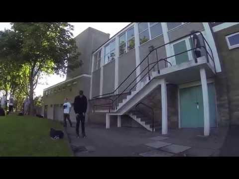 Scottish Rollerblading montage 2014