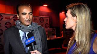 Iqbal Theba (Glee's Principal Figgins) Interview: DoSomething.org & Staples Teen Choice After Party