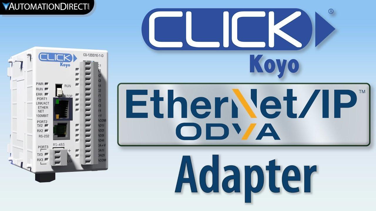 CLICK PLC EtherNet/IP Adapter