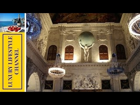 Inside tour of Royal Palace in Amsterdam