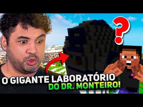 RECONSTRUÍMOS O LABORATÓRIO DO DR.MONTEIRO COM UMA SURPRESA! - MINECRAFT S02 #106
