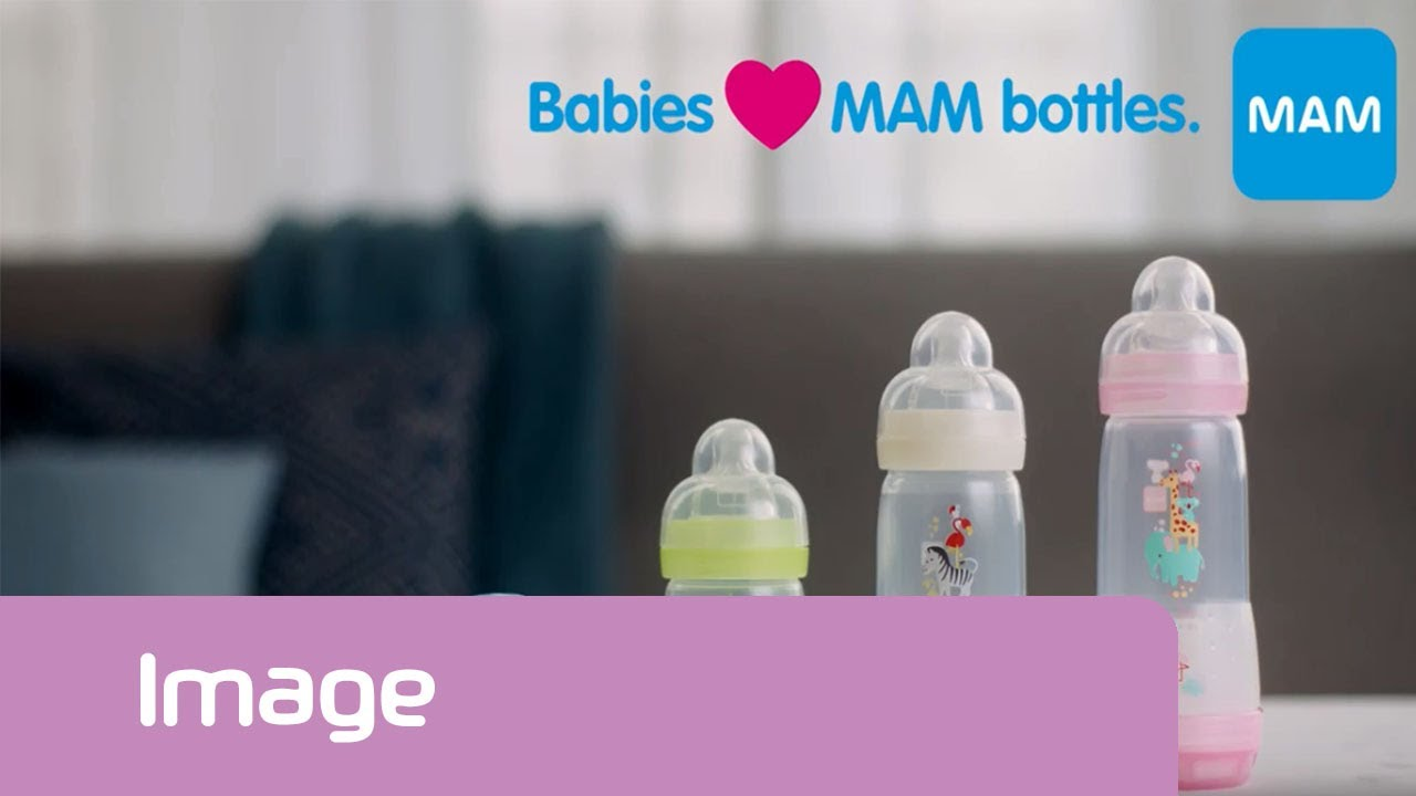 Best baby bottle for newborns – MAM Easy Start Anti-Colic bottle  [Official MAM Video]