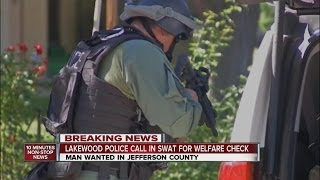 Lakewood Police call in SWAT for welfare check