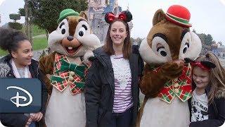 'Pirates of the Caribbean' Star Kaya Scodelario Visits Disneyland Park Paris