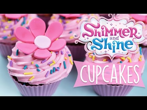 Make SHIMMER AND SHINE CUPCAKES DIY Images