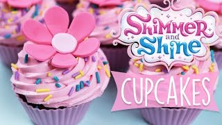 SHIMMER AND SHINE CUPCAKES DIY