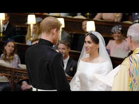 Meghan Markle and Prince Harry Celebrate 1 Year of Marriage! Remembering the Royal Wedding